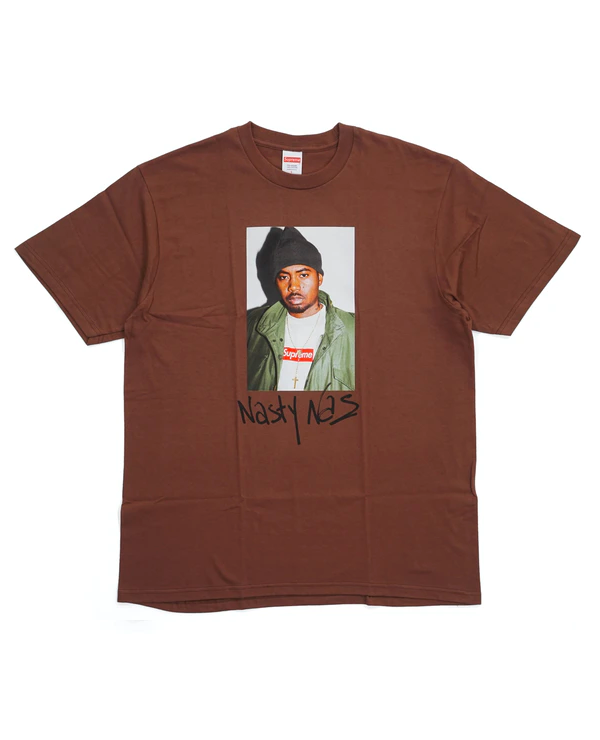 Supreme Nas Tee Brown