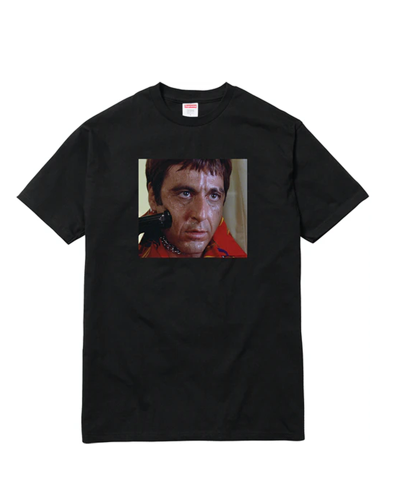 Supreme Scarface Shower Tee Black
