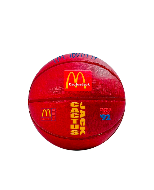 Travis Scott x McDonalds All American 92' Basketball