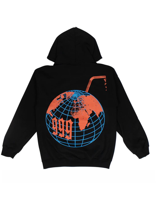 Vlone x Juice Wrld Graphic Hoodie Back/Multicolor
