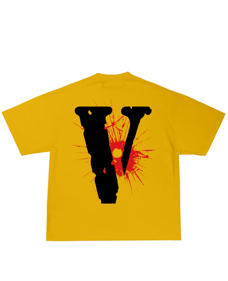 YoungBoy NBA x Vlone House Arrest Tee Yellow