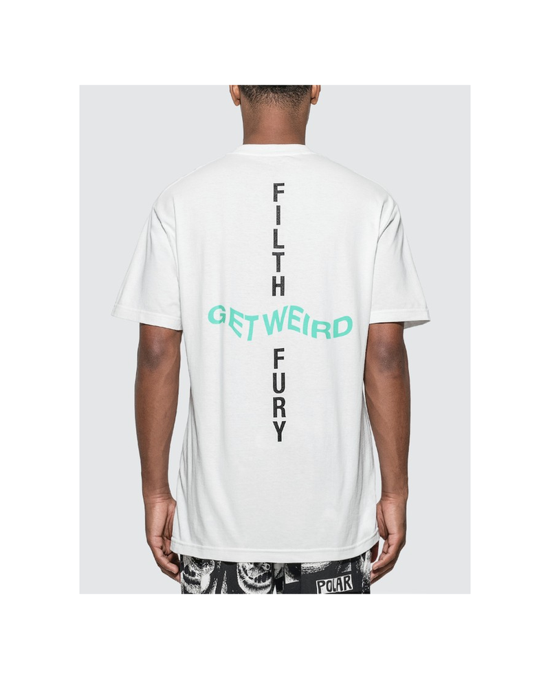 Anti Social Social Club x Neighborhood Filth Fury T-Shirt 'White'