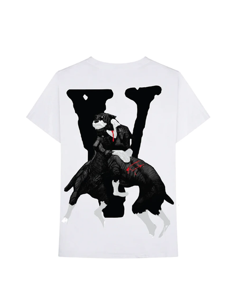City Morgue x Vlone Dogs Tee White