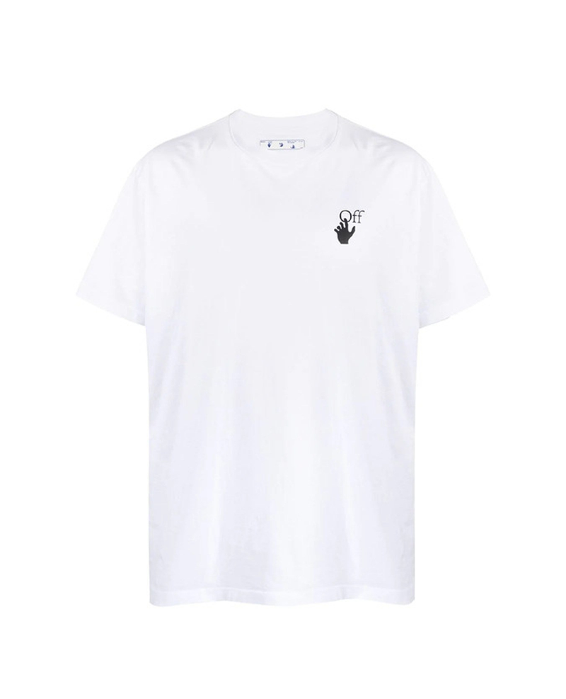 off-White White t-shirt with Pascal print