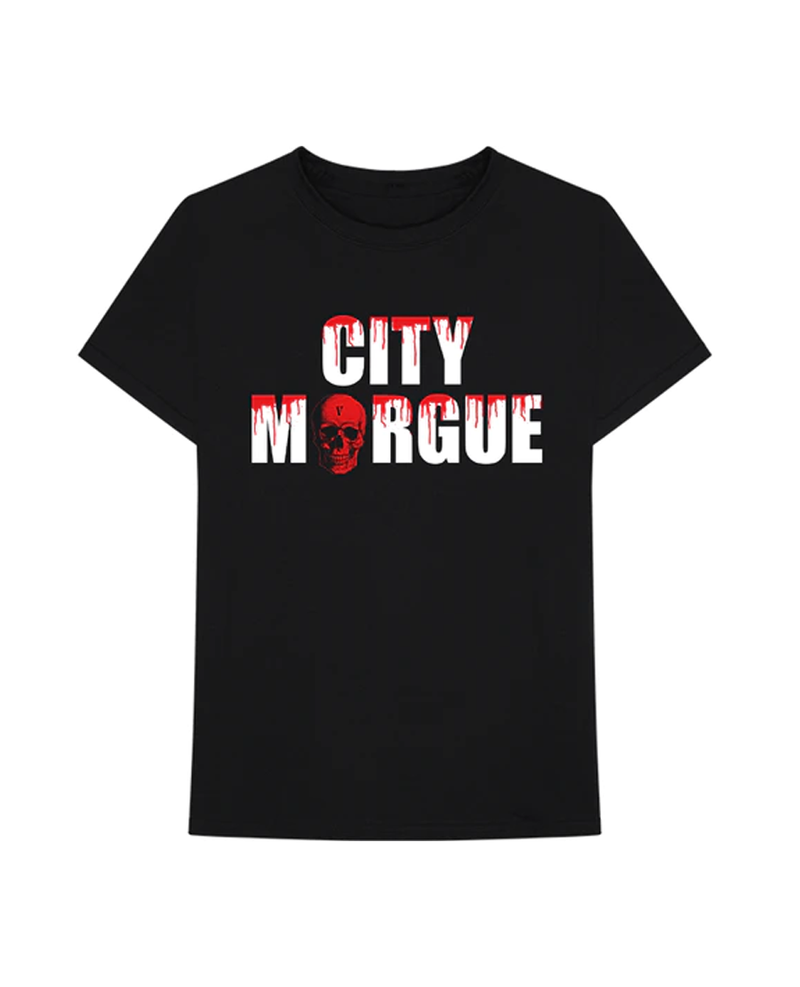 City Morgue x Vlone Dogs Tee Black