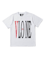 Vlone clot dragon white and red