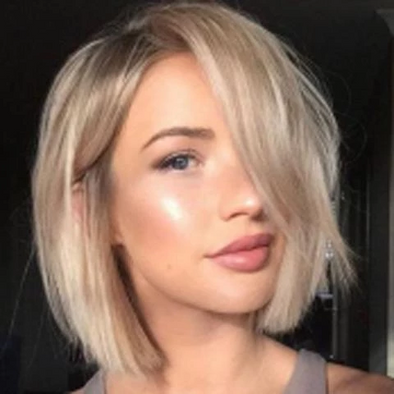 Gorgeous Short Straight Blonde Bob Wig