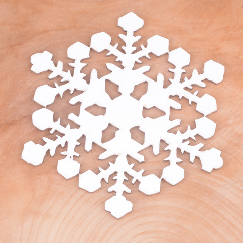 Snowflake, craft shapes