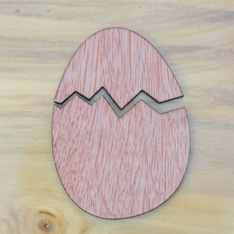 Cracked Egg, Plywood or MDF