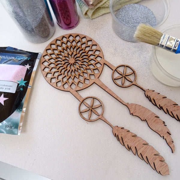 Dream catcher, Plywood