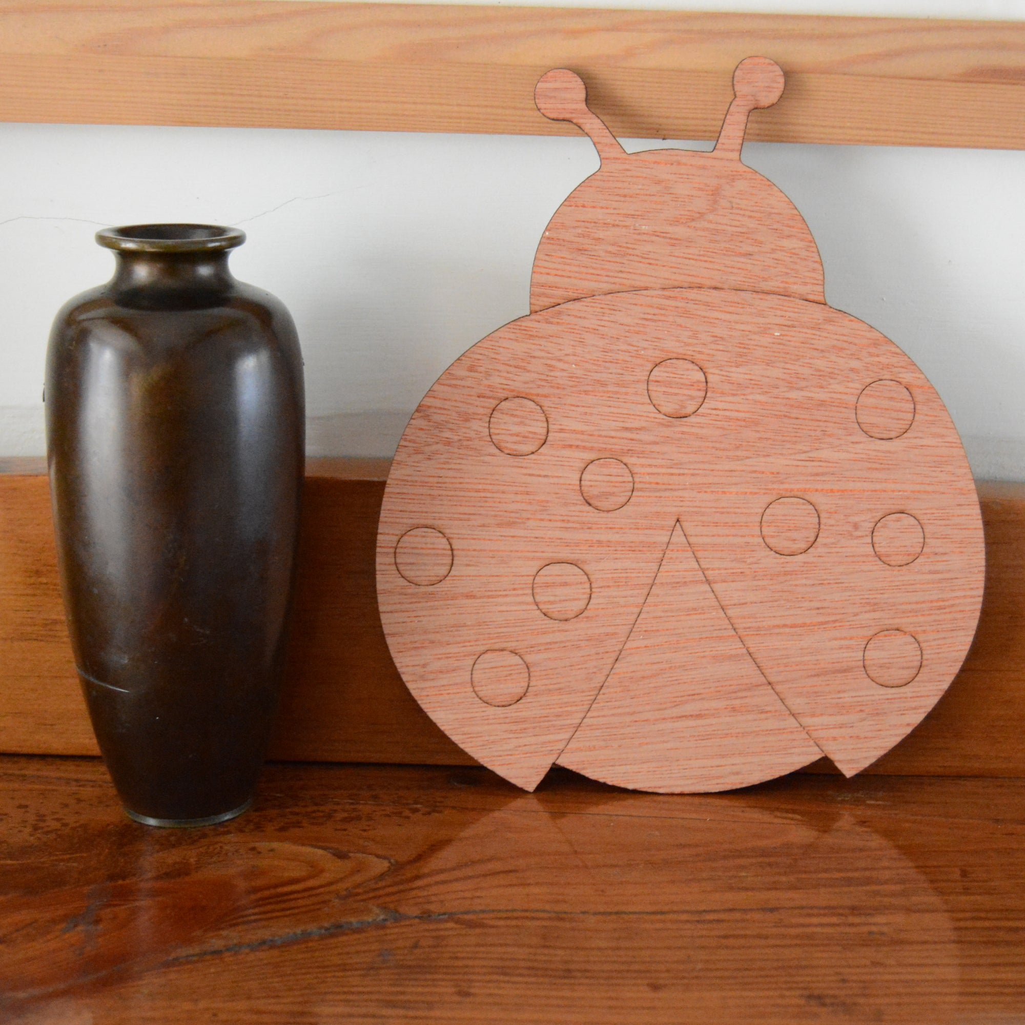 Ladybird, plywood shapes