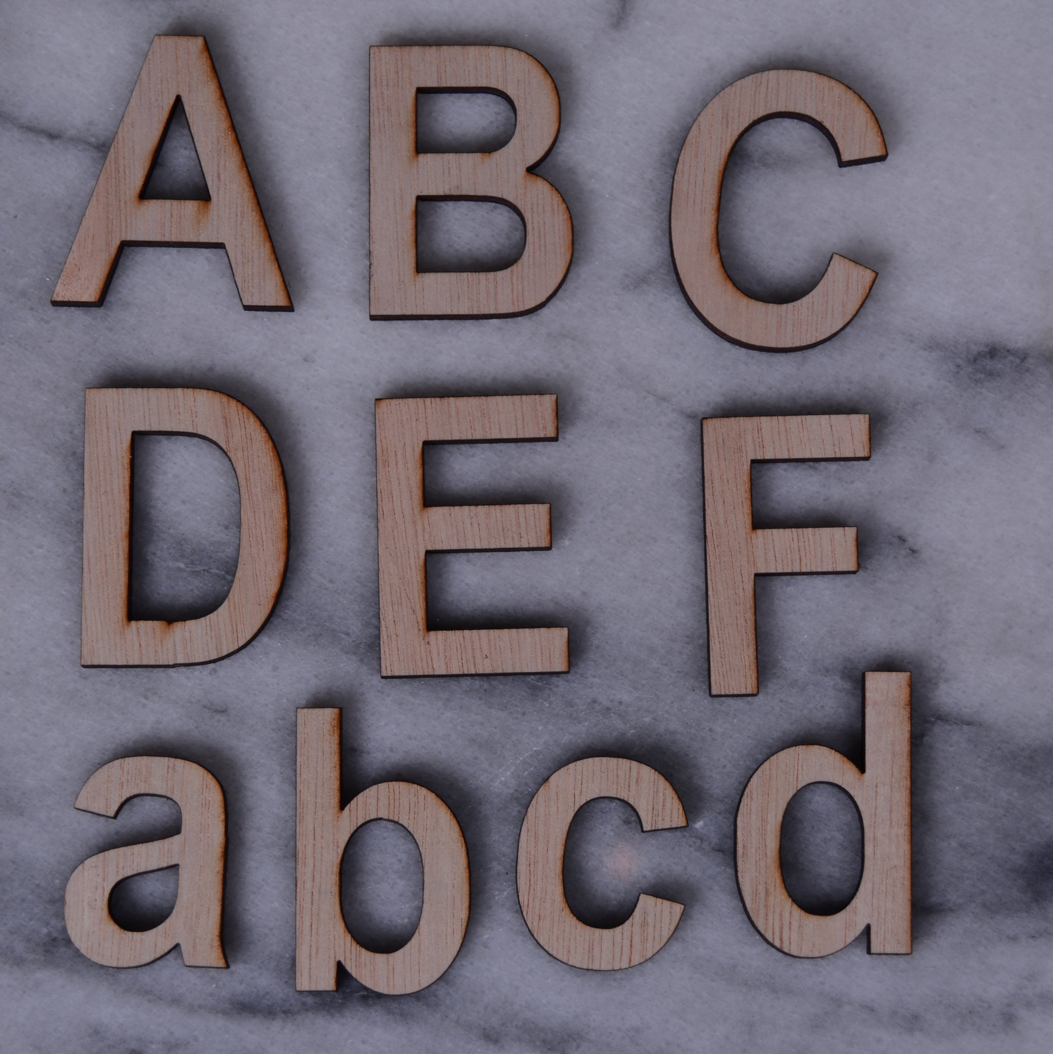 Letters and Numbers, Arial font 10CM