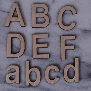 Letters and Numbers, Arial font 6CM