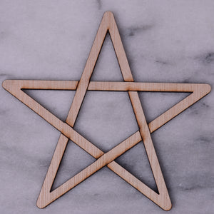 Pentagram, Plywood or MDF