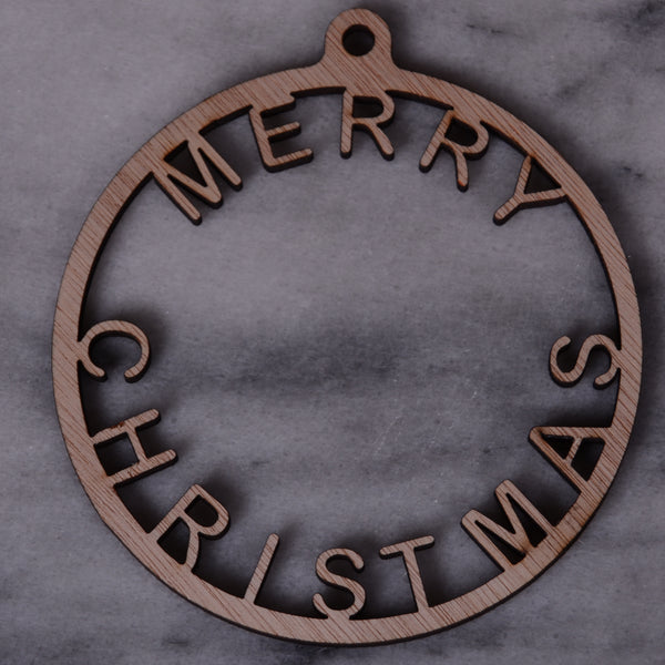Merry Christmas ring, craft shapes