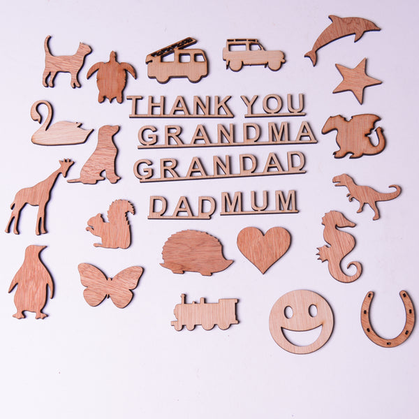 Thank You card, templates pack