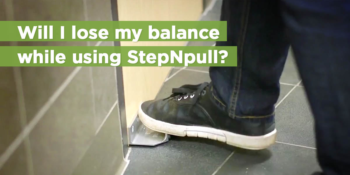 Will I lose my balance while using StepNpull?
