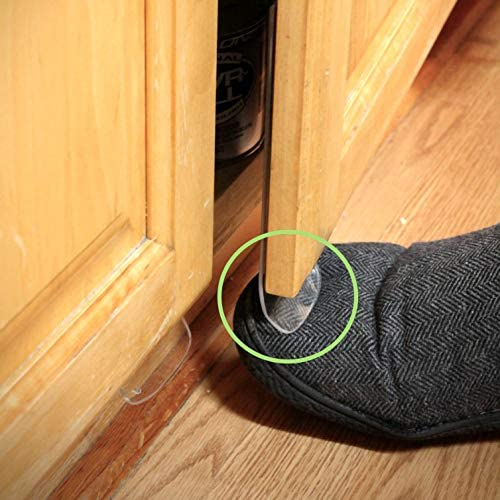 ToeIn - Hands Free Cabinet Door Solution (4 Pack)
