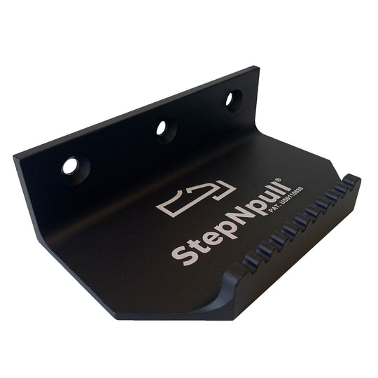 StepNpull Matte Black Door Opener