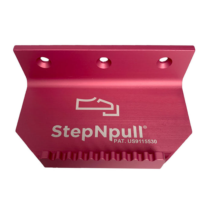 StepNpull Pink Finish