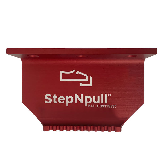 StepNpull Red Finish