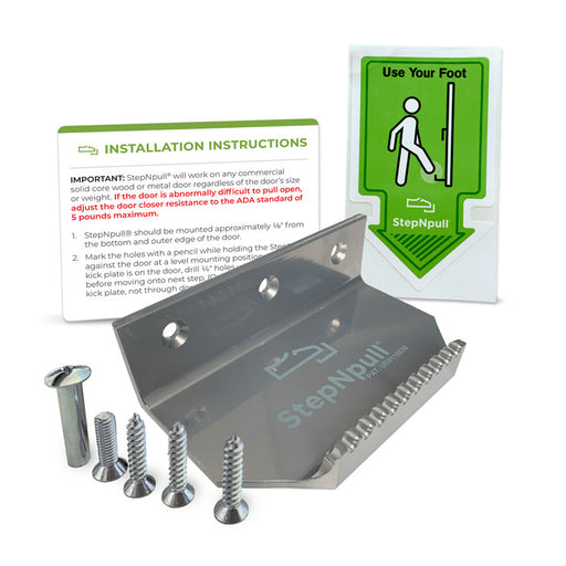 foot operated door opener bundle