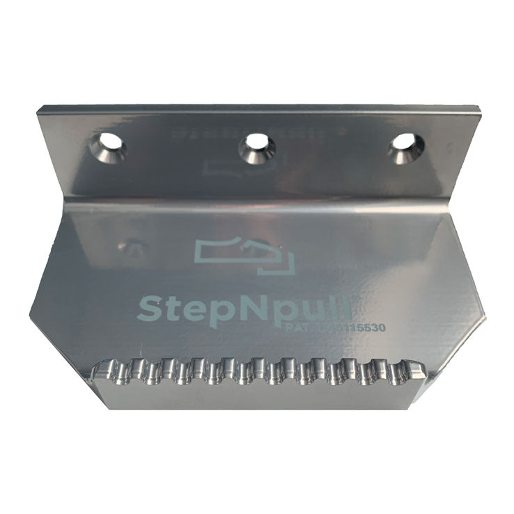 foot operated door opener top view