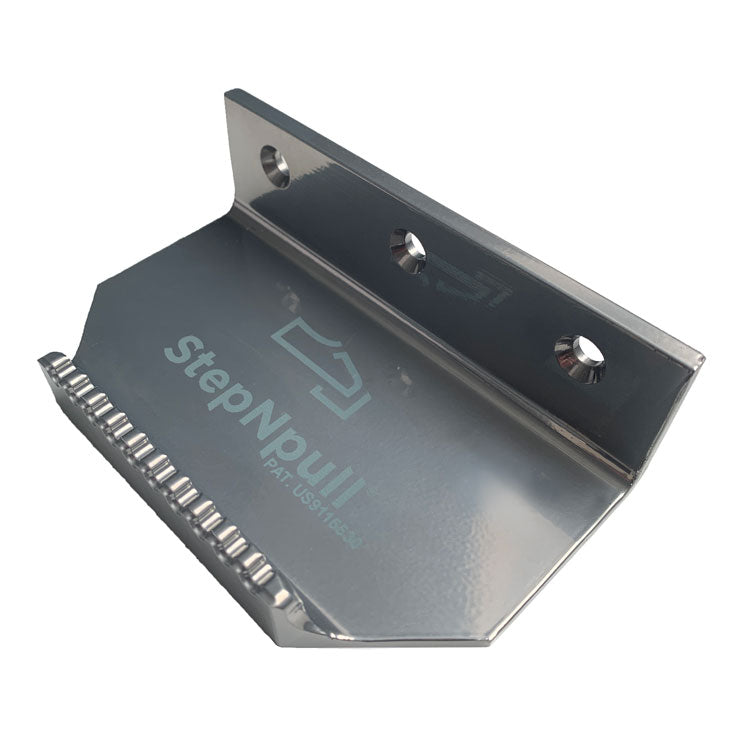 StepNpull Silver Finish