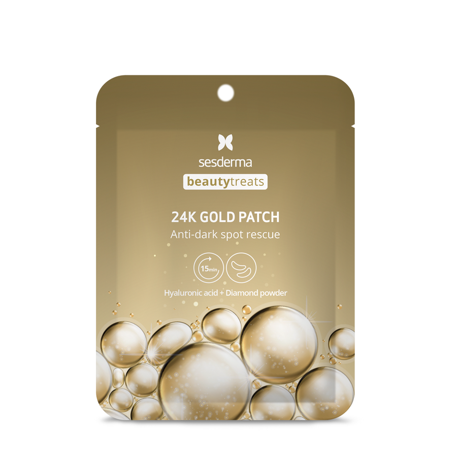 BEAUTY TREATS. Parches Contorno de Ojos Oro 24k