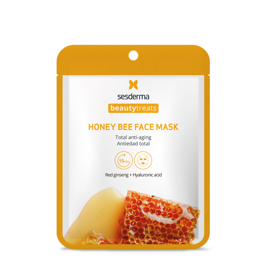 BEAUTY TREATS HONEY BEE FACE MASK