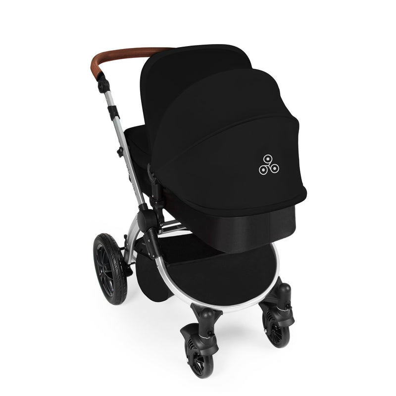 Ickle Bubba Stomp V3 Galaxy All In One with Isofix Base Black