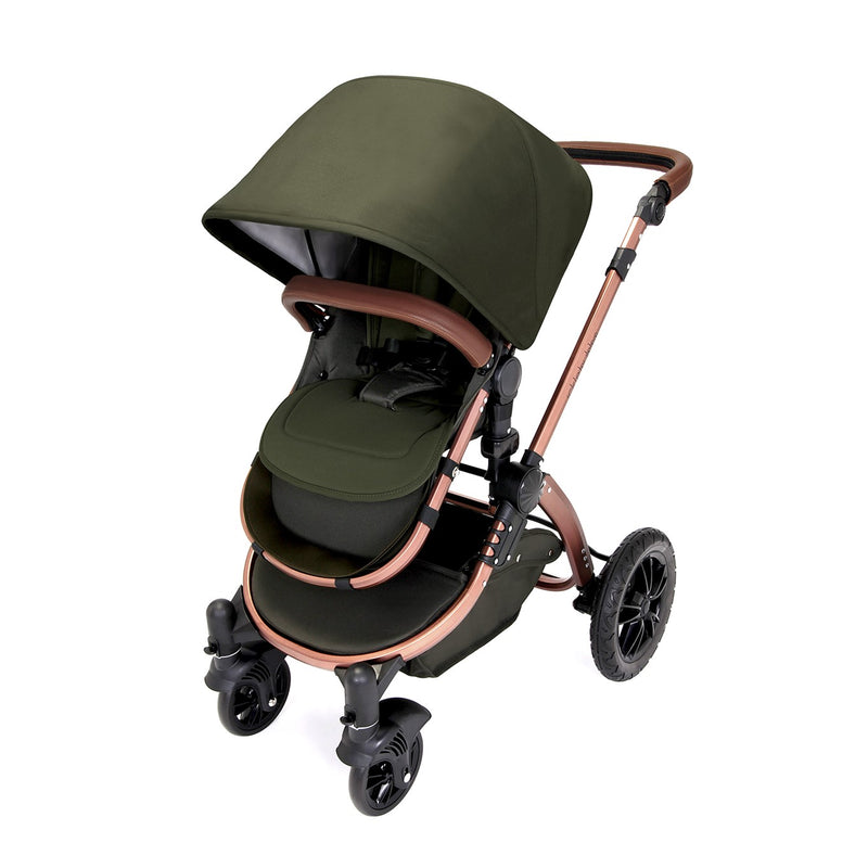 Ickle Bubba Stomp V4 Galaxy All In One with Isofix Base Woodland