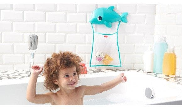 Tiny Love Bath Toys Dolphin Organizer