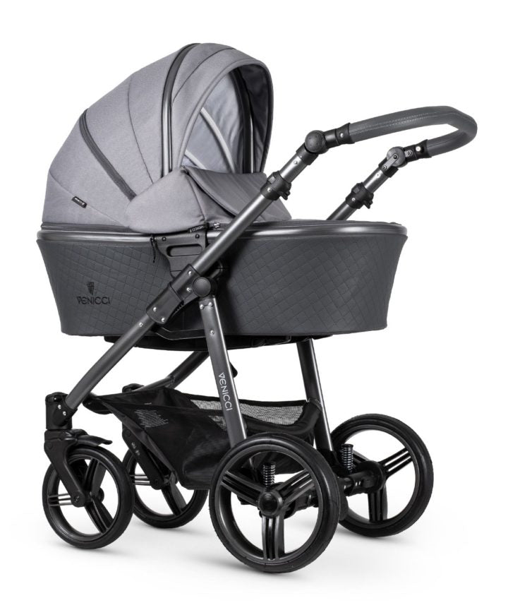 Venicci Carbo Travel System Natural Grey (LUX)