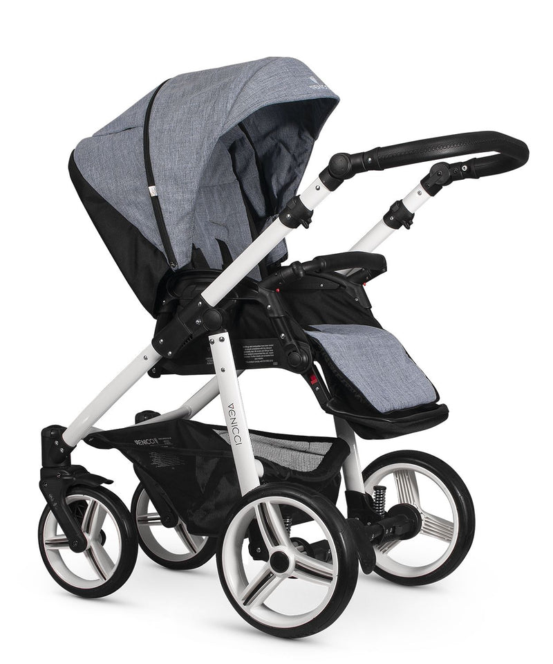 Venicci Soft Travel System Med Grey