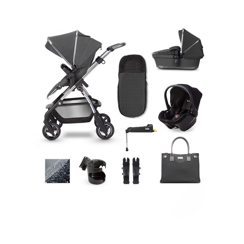 SilverCross Wayfarer 2020  Simplicity Plus & ISOFIX Base Bundle Clay