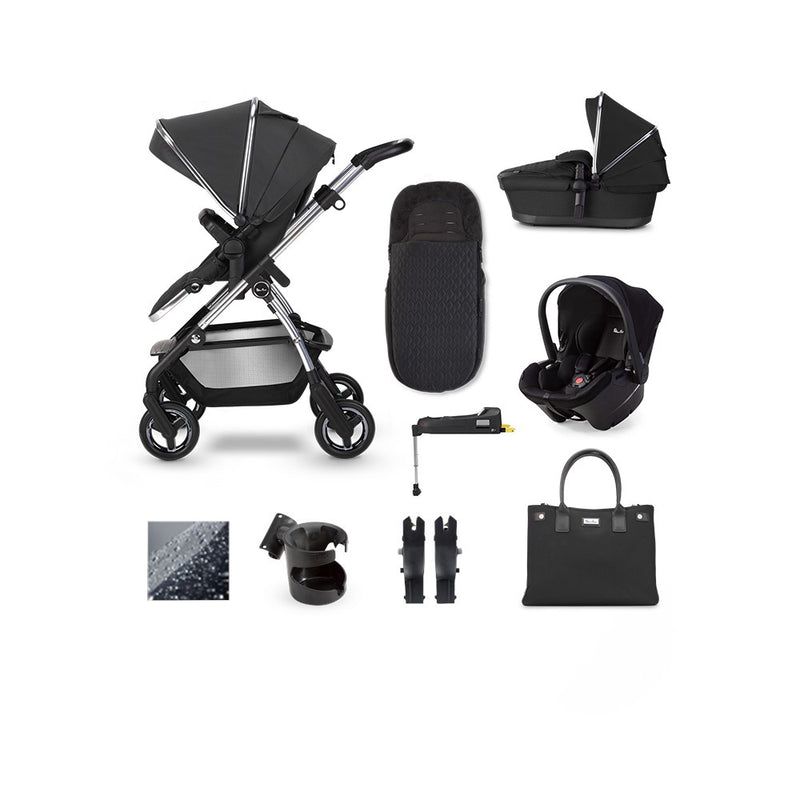 SilverCross Wayfarer 2020 Pepper Simplicity Plus & ISOFIX Base Bundle Pepper