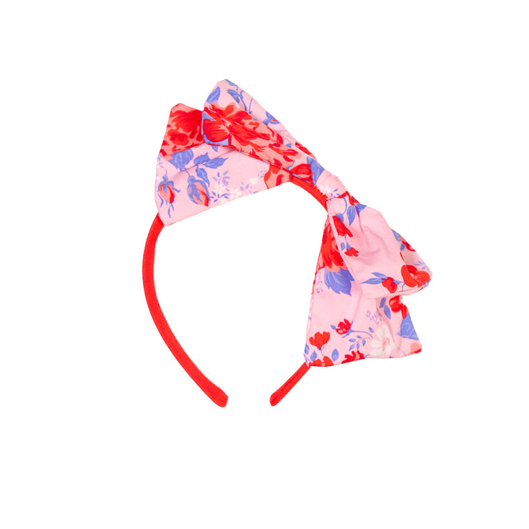 French Rose Bow Headband