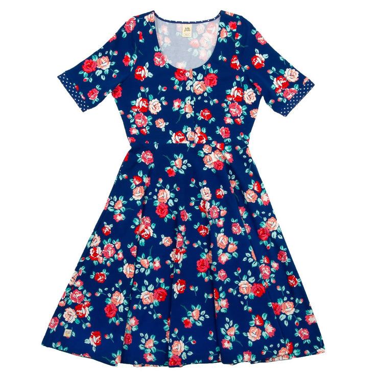 Peach Blossom Adult Dress