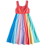 Rainbow Adult Dress