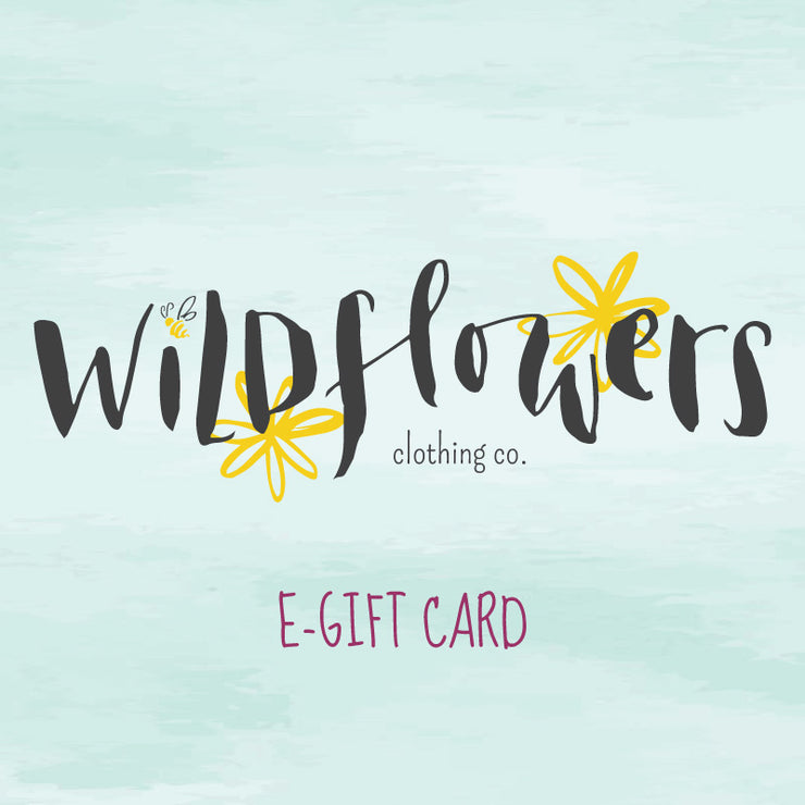 Wildflowers Gift Card