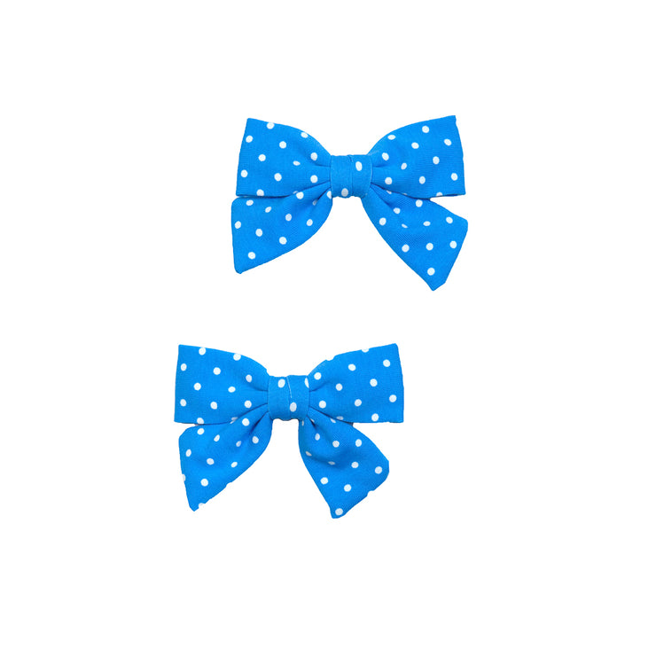 Blue Dot Mindy Bows