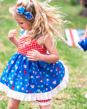 Red, White, And Cute Headband