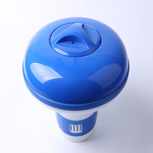 Swimming pool disinfection automatic applicator floating applicator 5 inch swimming pool floating water pill floating