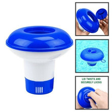 Load image into Gallery viewer, Swimming pool disinfection automatic applicator floating applicator 5 inch swimming pool floating water pill floating