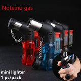 Mini Butane Jet Torch Windproof Lighter Fire Ignition Burner (no gas)