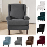 1PC Stretch Slipcover Wingback Chair Cover Armchair Sofa Cover Protector Recliner Furniture Covers