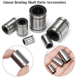 Linear Bearing Shaft Parts Accessories 3D Printer Engraving Machine Sealed and Dustproof Low Noise Metal New Durable