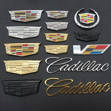 Car Accessories Exterior Trunk Emblem Metal Badge Decal Rear Sticker for Cadillac
