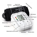 Digital Blood Pressure Monitor High Accuracy Upper Arm Sphygmomanometer Home Health Care